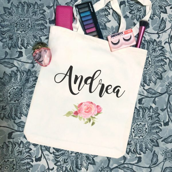 Gift for Bridesmaid, Gift for Teenage Girl, Tote Bag Gift for Ladies, Eco Market Tote Bag