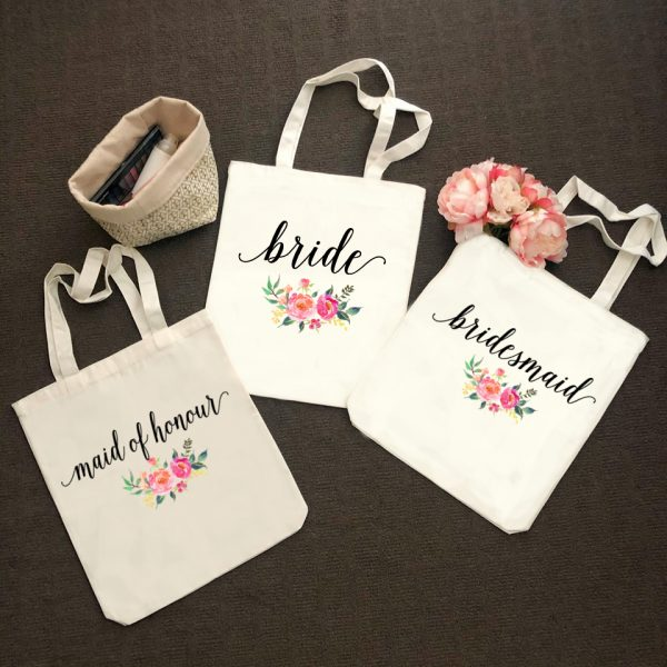 Bridesmaid Proposal Gift Idea, Tote for Bridal Party, Bridesmaid Tote Bags, Wedding Gift Idea