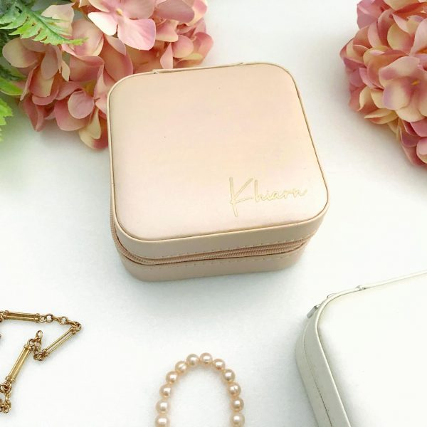 Gift for Bridesmaid Australia, Travel Jewellery Box, Multi Purpose jewellery case,