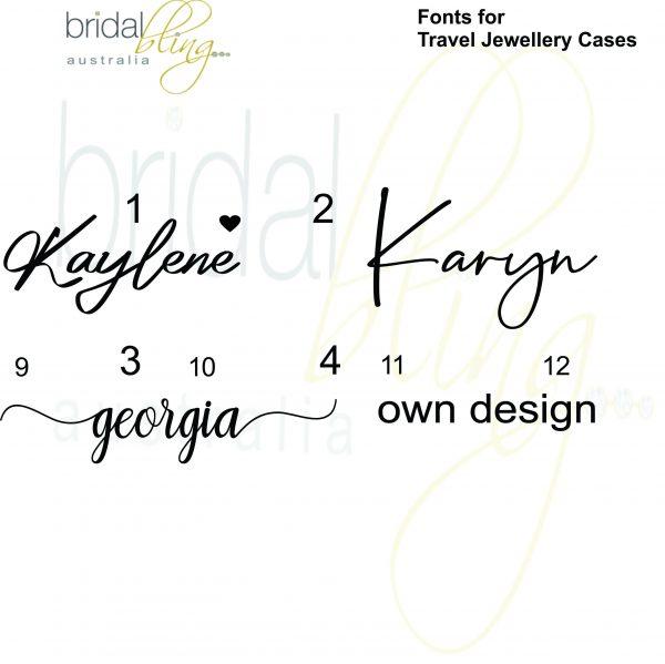 Travel Jewellery Case -